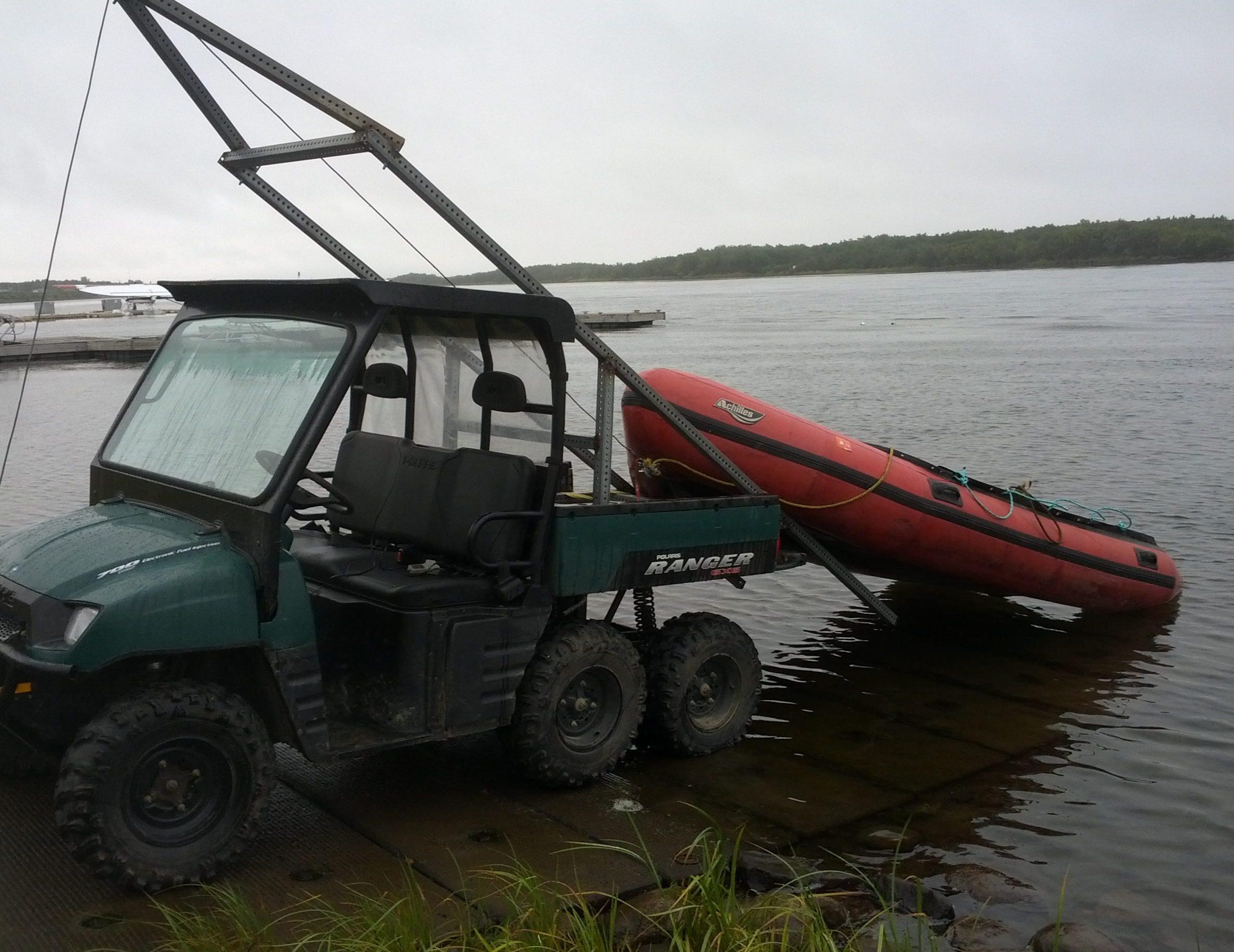Custom Boat Launcher